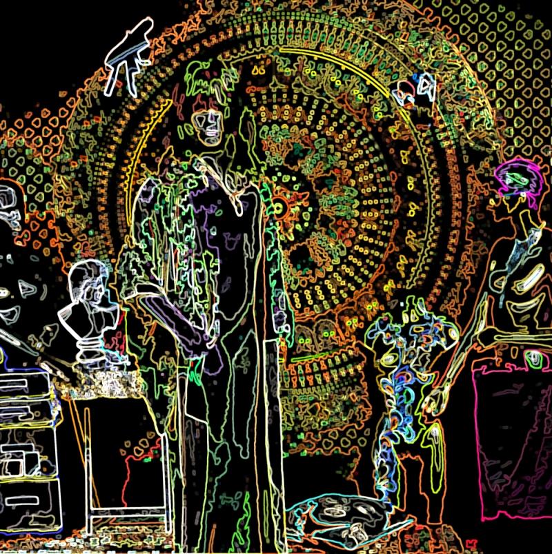 EP artwork Monster Jaw - Basement Sessions