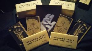 Orlando Seale sells world's first chocolate song bar