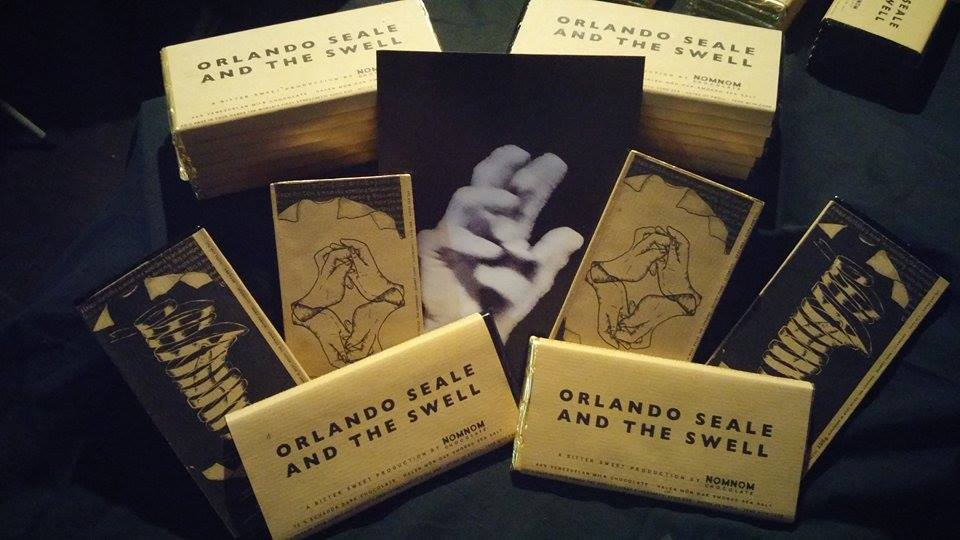 Orlando Seale release new single Wrestling with the help of artisan chocolate songbars