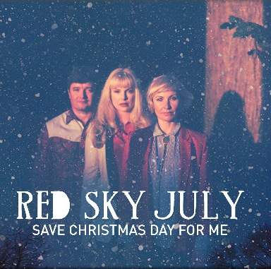 Country music trio Red Sky July release music video for Save Christmas Day For Me
