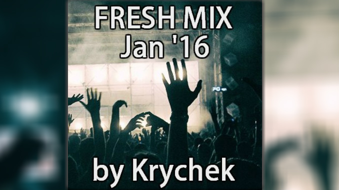 Talented DJ and artist Krychek puts together an exclusive mix for Fresh Beats 365, free download