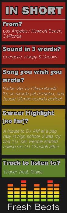 Christofi interview summary
